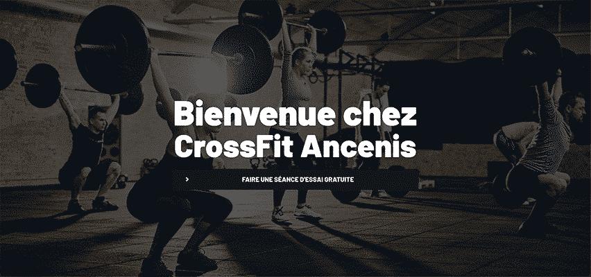 Projet CrossFit® Ancenis par Web Avalanche