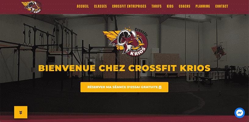 Projet CrossFit® Krios par Web Avalanche