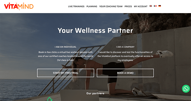 Projet Vitamind par Web Avalanche